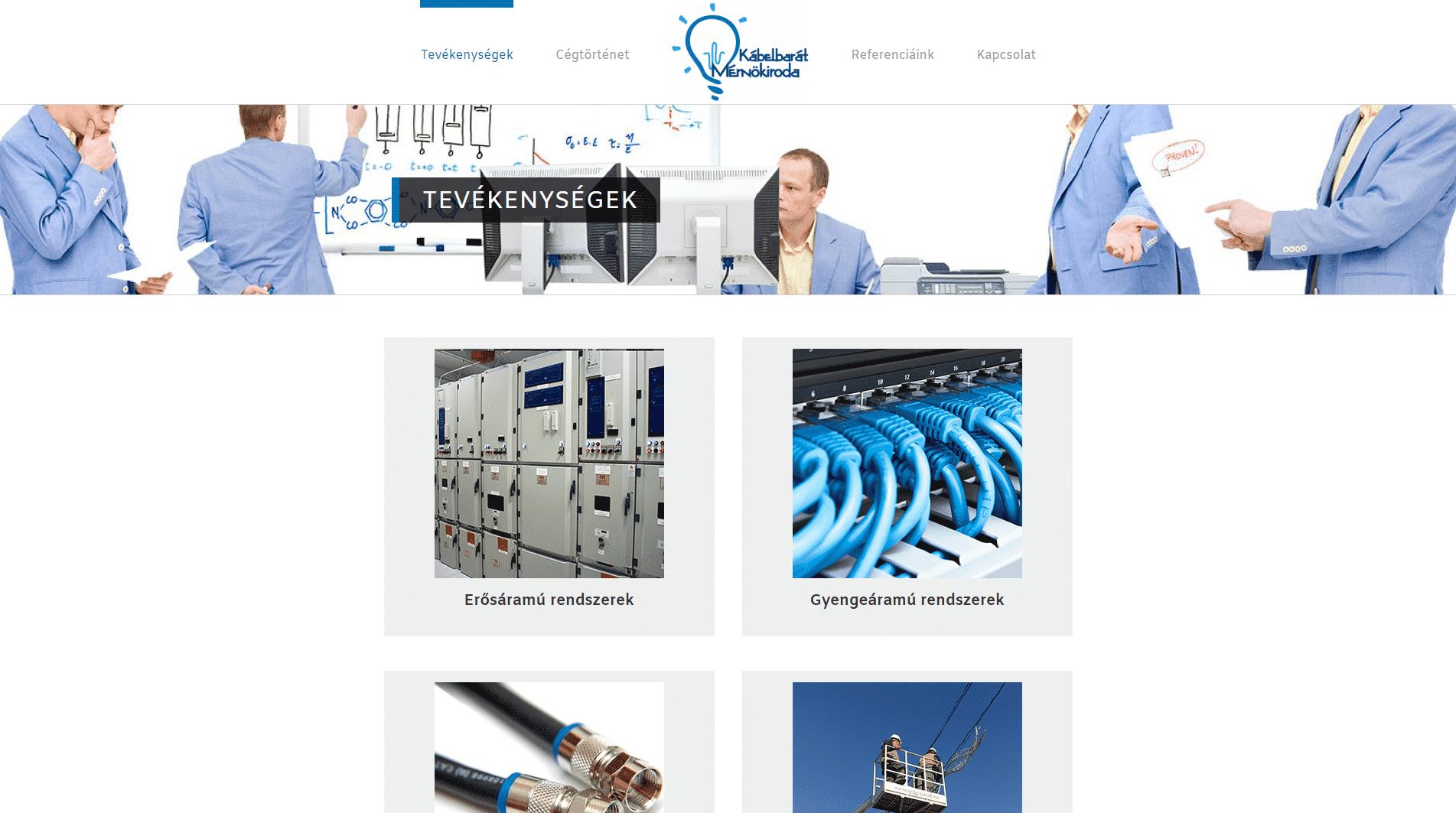 Kábelbarát Mérnökiroda Kft – Kontaktusban a biztonsággal…